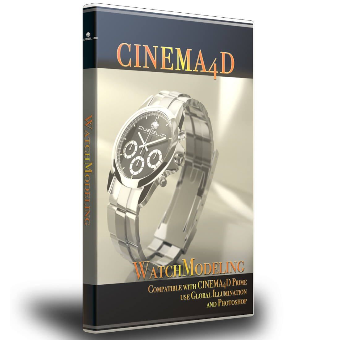 CINEMA4D講座【WatchModeling】